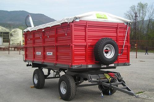 15,5 tonnás kéttengelyes pótkocsi 2B200 BICCHI