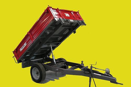 2 tonnás egytengelyes pótkocsi BRT 125 GCF BICCHI