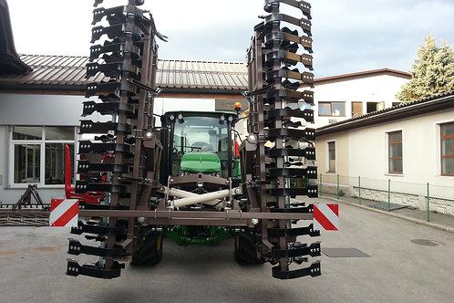 Frontfüggesztéses talajelmunkáló  - Grinder 600
