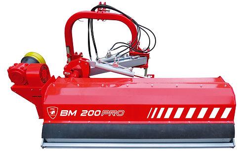 Rézsűmulcsozó BM 200 PRO