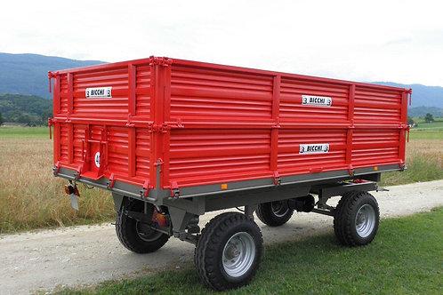 6 tonnás kéttengelyes pótkocsi 2B80 BICCHI