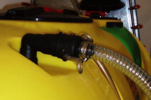 ATL - axial ventillátoros permetező - 800 l