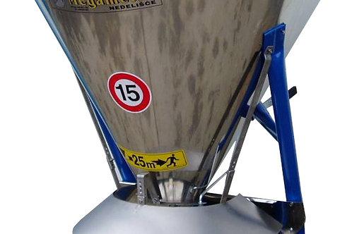 Sószóró 500 literes inox