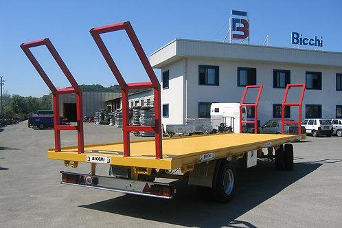 9,45 tonnás kéttengelyes bálaszállító pótkocsi 2A120 BICCHI