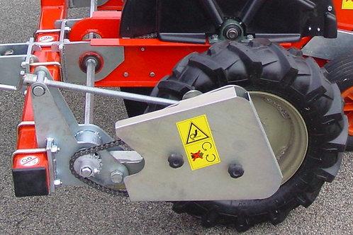 2 soros fokhagyma ültetőgép TA 2- olasz gyártmány