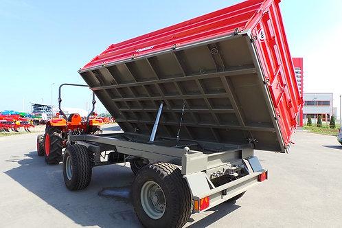 10 tonnás kéttengelyes pótkocsi 2B130 BICCHI