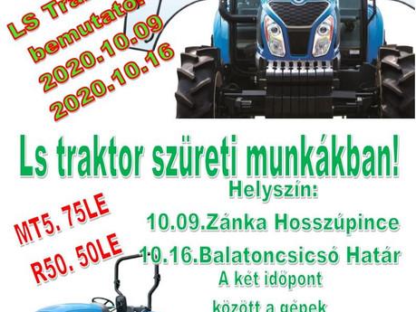 LS traktor B E M U T A T Ó