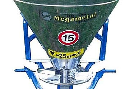 Műtrágyaszóró RGI 300 literes, Inox