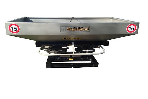 Műtrágyaszóró RGI 1200 literes, Inox