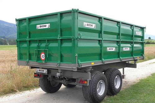 8,5 tonnás tandem pótkocsi BT 120 BICCHI