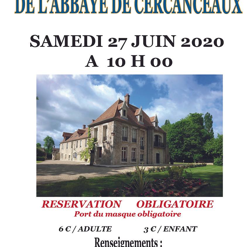 Visite Abbaye de Cercanceaux
