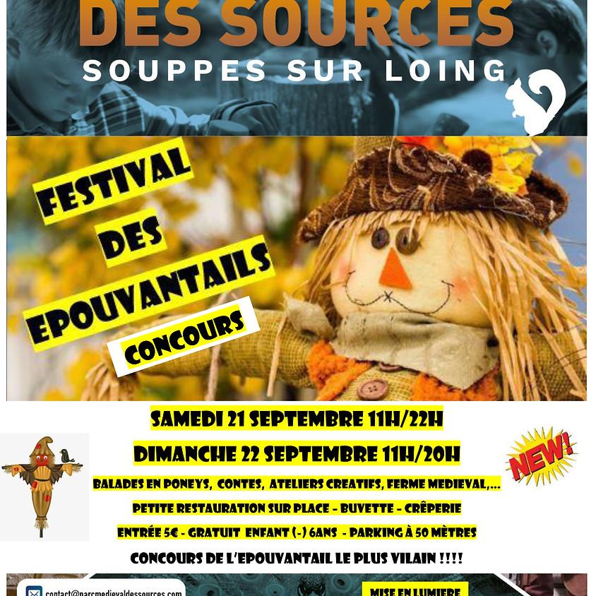 Festival des épouvantails et concours - Parc médiéval des Sources
