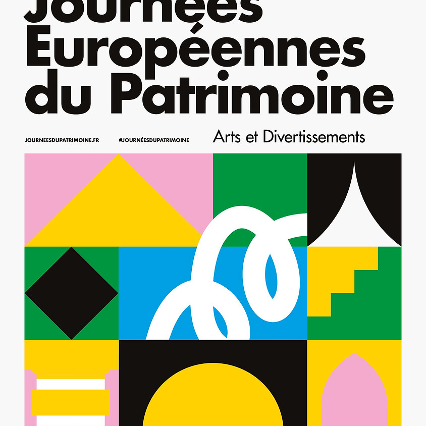 Journées Européennes du Patrimoine : samedi 21 et dimanche 22
