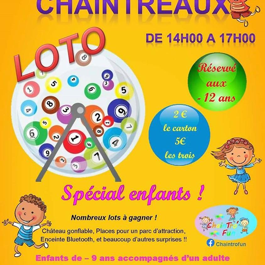 loto spécial enfants à Chaintreaux