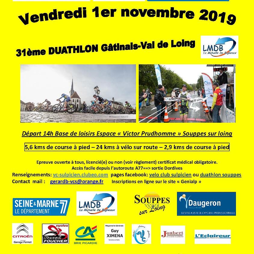 31ème Duathlon Gâtinais Val de Loing