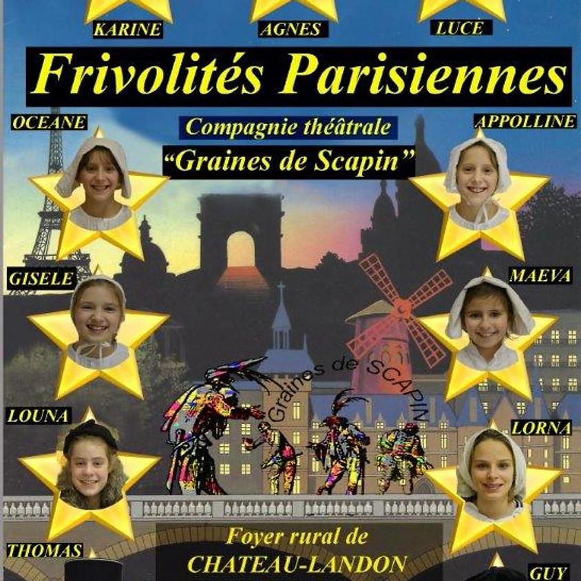 Théâtre: Frivolités Parisiennes