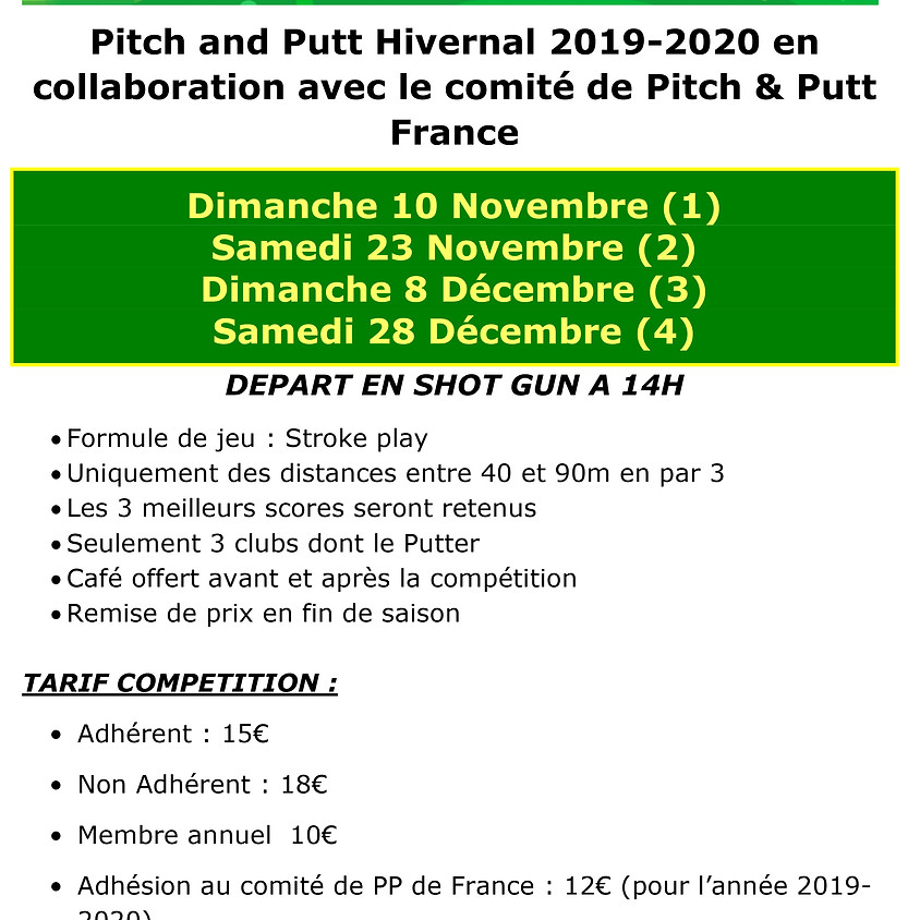 Pitch and Putt hivernal 2019-2020 Golf des Bruyères  (1)