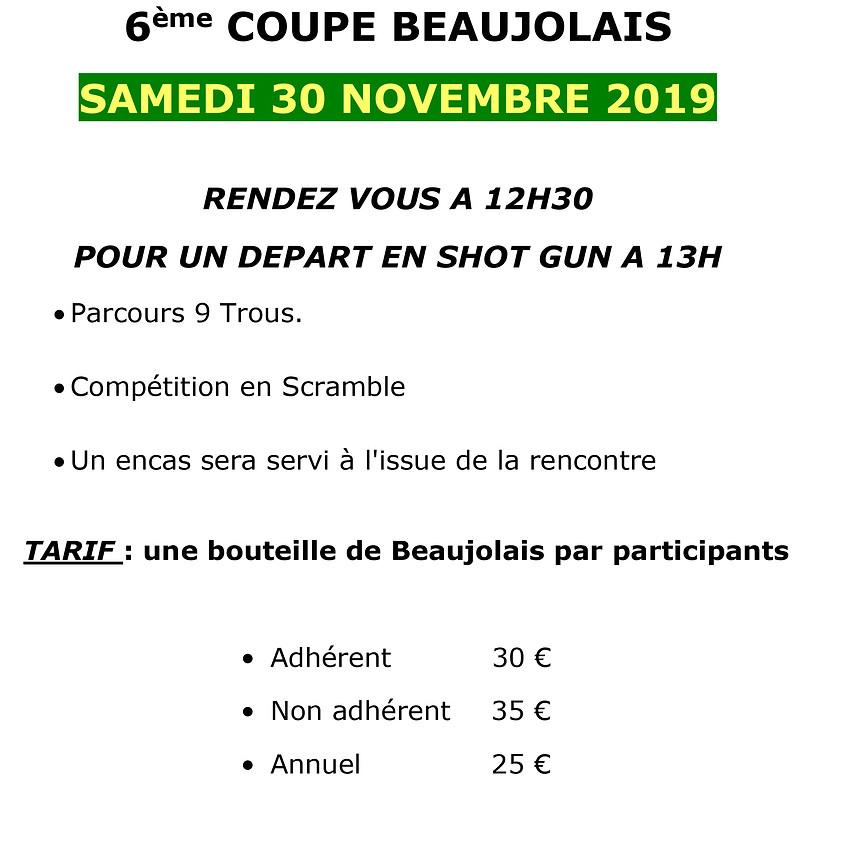 6ème coupe Beaujolais
