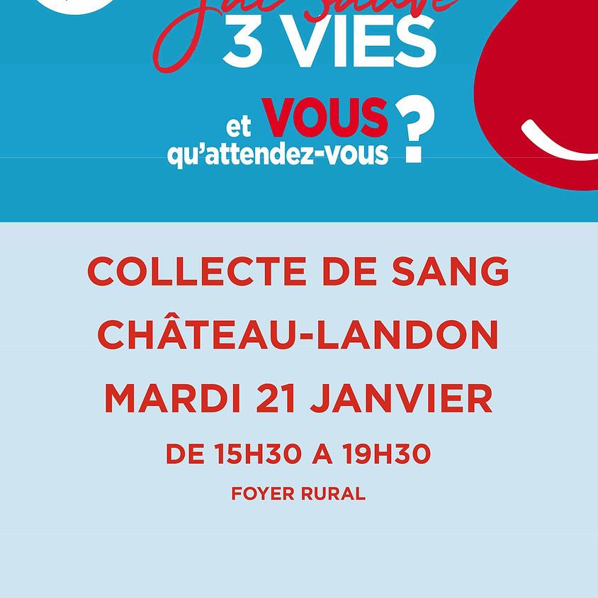 Don du sang Château-Landon