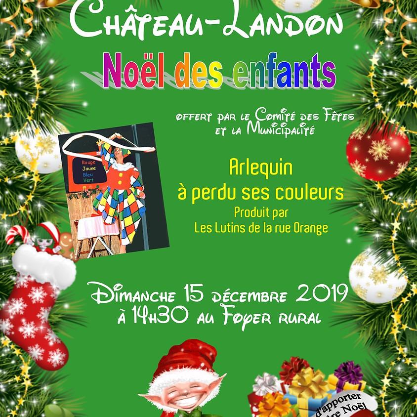 Noêl des enfants à Château-Landon