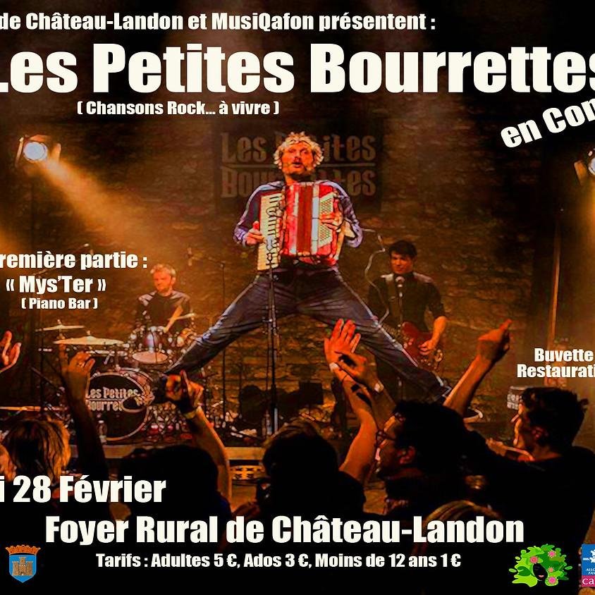 """Concert """"Les petites Bourrettes"""" à Chateau-Landon"""