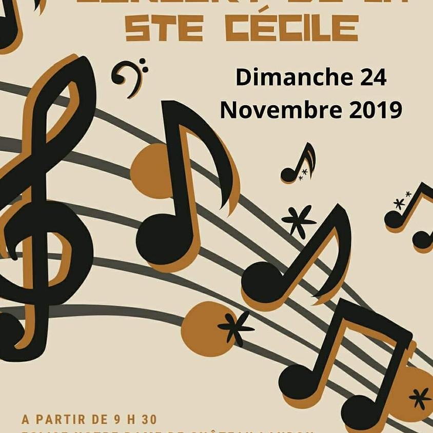 Concert de la Sainte Cécile à Château-Landon