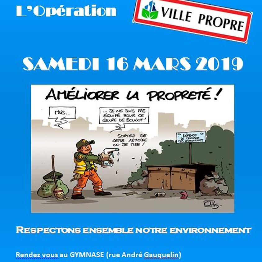 """Opération """"Ville propre"""""""