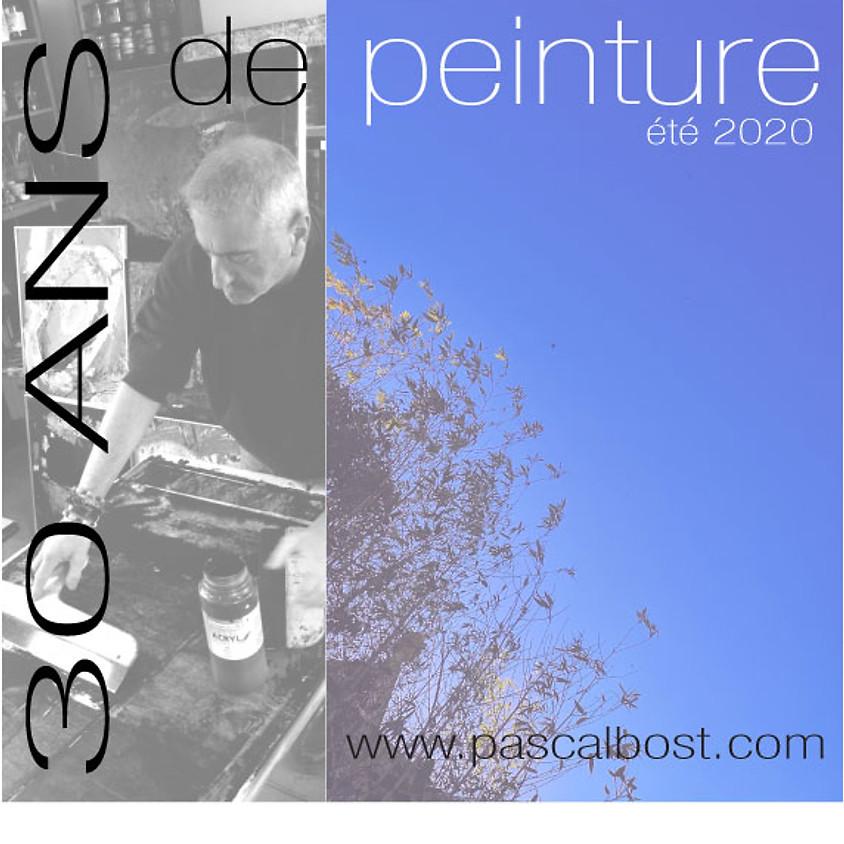 30 ans de peinture avec Pascal BOST, artiste peintre