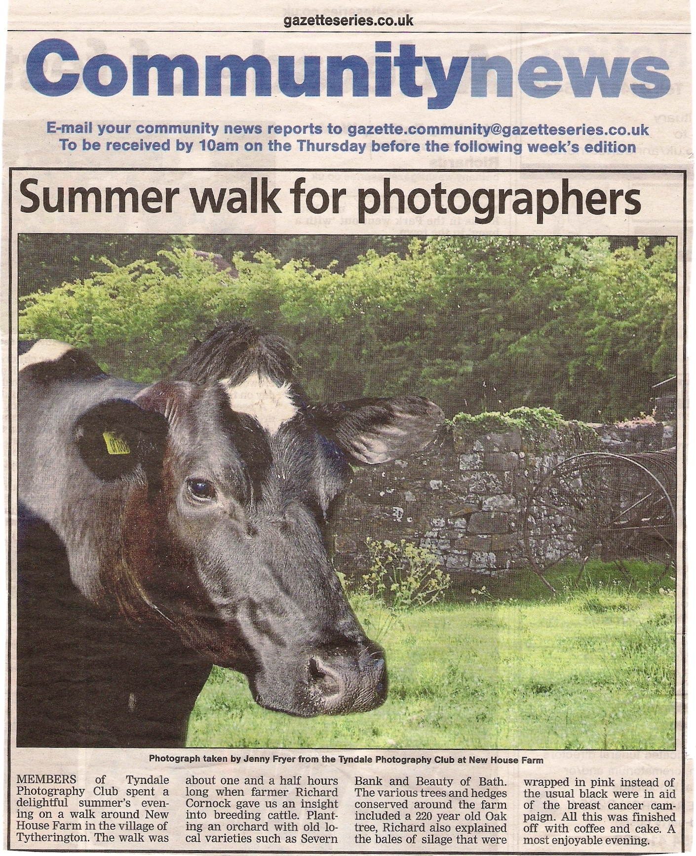 Thornbury Gazette June 25th 2015