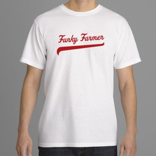FunkyFarmer t shirt. MEDIUM