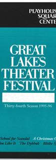 Great Lakes Theater Festival '95-'96