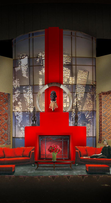 Set design by John Arnone