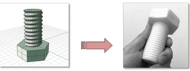 Tecnologías de prototipado rápido: Impresión 3D