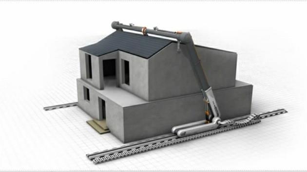 ¿Imprimir Casas? Futuro Impresión 3D