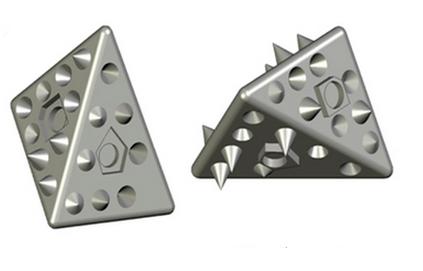 Investigan el autoensamblaje con piezas impresas en 3D