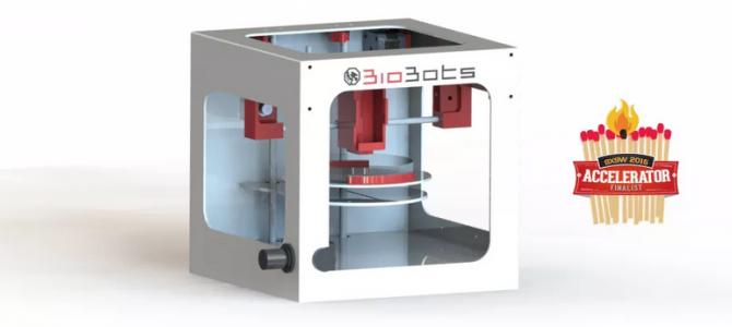 BioBot, una BioImpresora 3D de escritorio