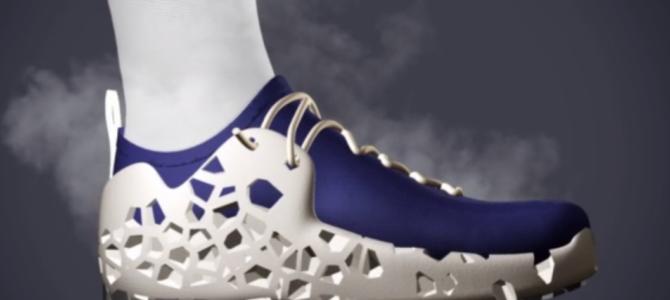 Los zapatos impresos en 3D del futuro: Footprint