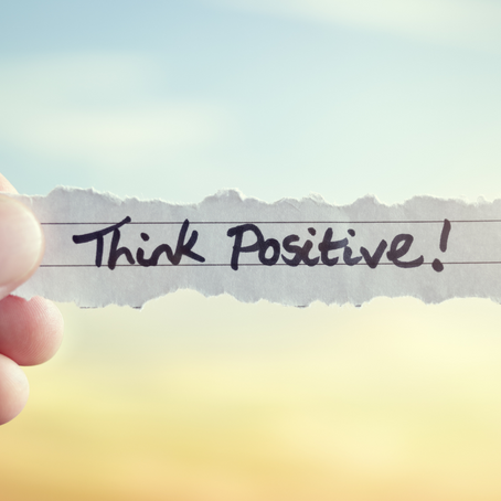 How to Think Positive Through Tough Times