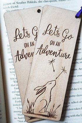 Wooden Bookmark - Adventure AP