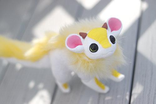 Handmade Posesable  Sunshine Mouse Dragon Art Doll