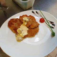 Pilz-Rahm-Schnitzel