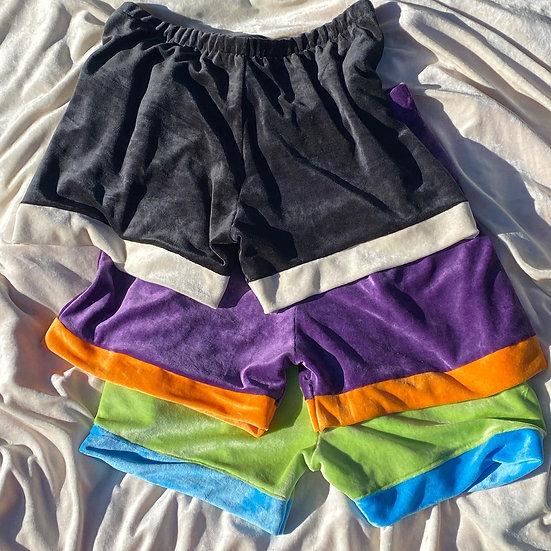 Bamboo Velour Laze Shorts