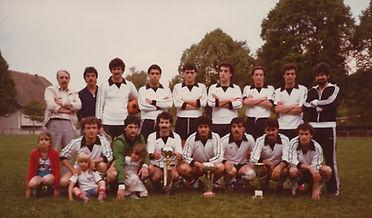 GSI Rümlang 1964 1. Mannschaft 1980