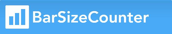 BarSizeCounter logo