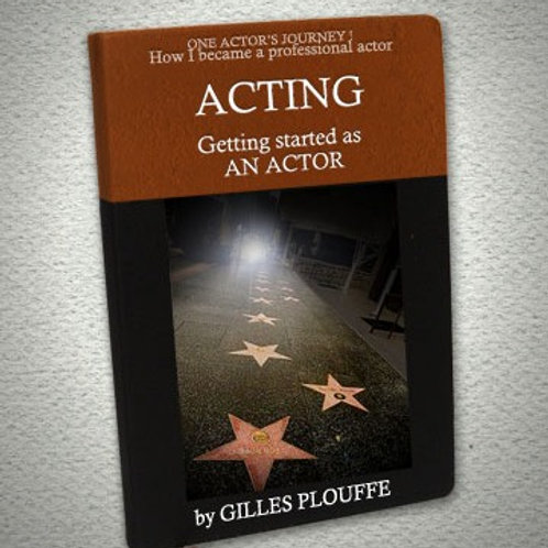 eBook: GETTING STARTED AS AN ACTOR