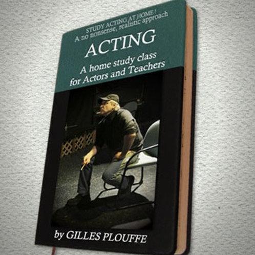 eBook: A HOME STUDY CLASS FOR ACTORS
