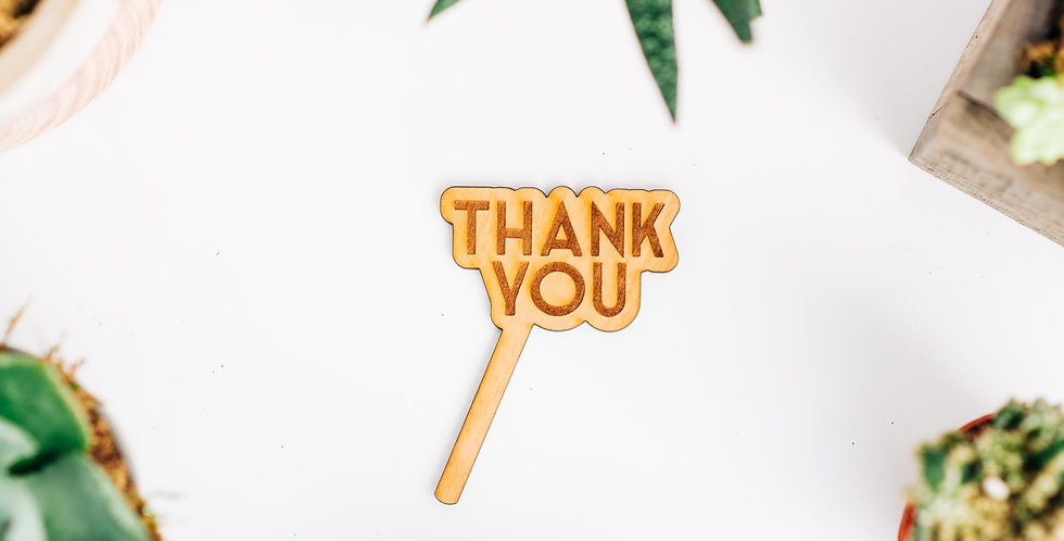 Thank You Plant Stake