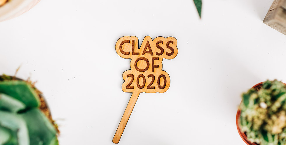 Class of 2020 Plant Stake