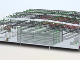 Warehouse as-built 2
