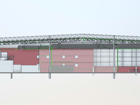 Warehouse as-built 3